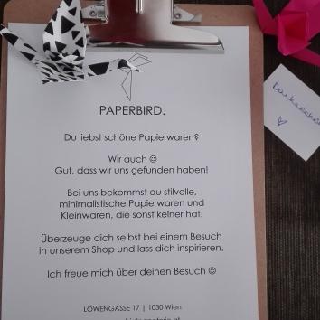 Paperbird @ Mein Raum Yoga